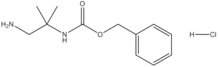 2-N-Cbz-2-Methylpropane-1,2-diamine hydrochloride